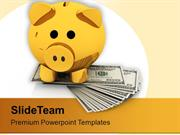 Save Small Amount Of Salary PowerPoint Templates PPT Themes And Graphi