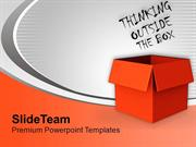 Think Out Of The Box For Creativity PowerPoint Templates PPT Themes An