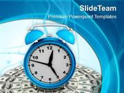Alarm Clock Is Good For Time Management PowerPoint Templates PPT Theme