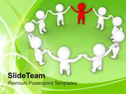 Complete The Solution With Right People PowerPoint Templates PPT Theme