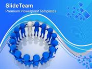 Do The Work With Team PowerPoint Templates PPT Themes And Graphics 051