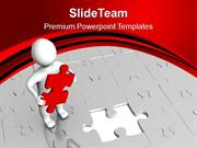 Fill The Gap With Right Part PowerPoint Templates PPT Themes And Graph
