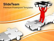 Fill The Gap With Suitable Skill PowerPoint Templates PPT Themes And G