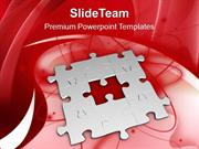 Fill The Problem With Right Solution PowerPoint Templates PPT Themes A