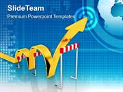 Jump The Problems For Better Business PowerPoint Templates PPT Themes