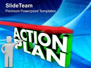 Make A Action Plan For Business PowerPoint Templates PPT Themes And Gr