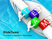 Make The Team For Business Growth PowerPoint Templates PPT Themes And