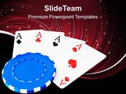 Poker Is A Game Of Cards PowerPoint Templates PPT Themes And Graphics