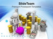 Small Savings Will Give You Wealth PowerPoint Templates PPT Themes And