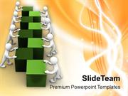 Teamwork Is Good For Market Growth PowerPoint Templates PPT Themes And