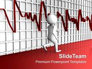 Person Running With HeartBeat Medical PowerPoint Templates PPT Themes