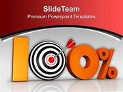 Planning To Achieve Business Target PowerPoint Templates PPT Themes An
