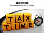 Save Your Money On Tax Returns PowerPoint Templates PPT Themes And Gra