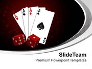 Time To Play With Cards Entertainment PowerPoint Templates PPT Themes
