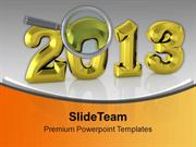 Celebrate This New Year With Happiness PowerPoint Templates PPT Backgr