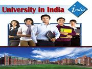 Quality Education from Quality University in India