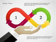 Business Process Shapes for PowerPoint by PoweredTemplate.com