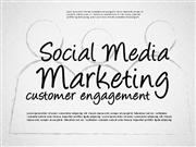 Social Media Marketing Shapes for PowerPoint by PoweredTemplate.com