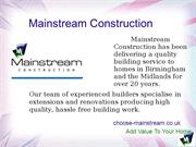 Builders Services in Birmingham