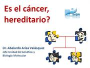 CANCER HEREDITARIO PARA PÚBLICO EN GENERAL