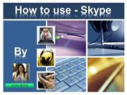 Anna_Reyes_How to use Skype