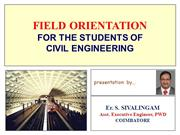FIELD ORIENTATION_CIVIL ENGG
