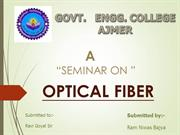 R N's  OPTICAL FIBRE  ppt