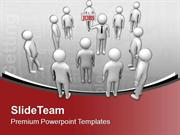 See The Opportunity Of Right Job PowerPoint Templates PPT Backgrounds