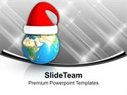 Wish Marry Christmas To Whole World PowerPoint Templates PPT Backgroun