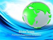 3d Illustration Of Globe Geography PowerPoint Templates PPT Themes And