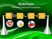 Analysis Of Business Risks PowerPoint Templates PPT Themes And Graphic