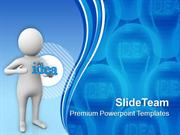 Developing Innovative Ideas For Business PowerPoint Templates PPT Them