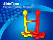 Do Business Teamwork For Finding Right Solution PowerPoint Templates P
