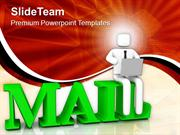 Follow The Internet Concept Technology PowerPoint Templates PPT Themes