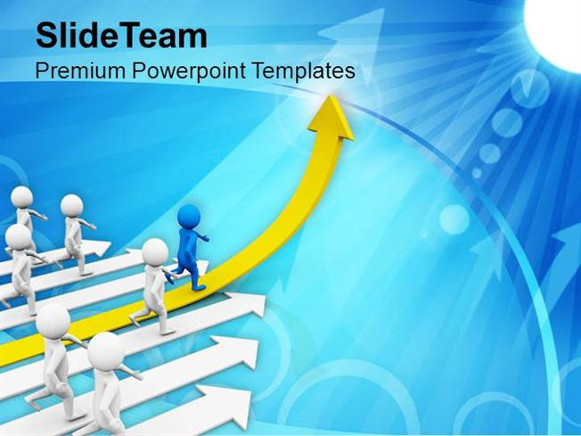 Leading A Team Goals And Achievement Powerpoint Templates PPT Them..  |authorSTREAM  Achievement Templates