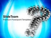 Team Follows The Instructions Business Concept PowerPoint Templates PP