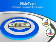 Aiming To Achieve Financial Target PowerPoint Templates PPT Themes And