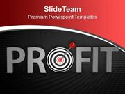 Business Profit PowerPoint Templates PPT Themes And Graphics 0513