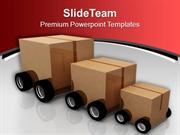 Deliver The Parcel Transportation PowerPoint Templates PPT Themes And