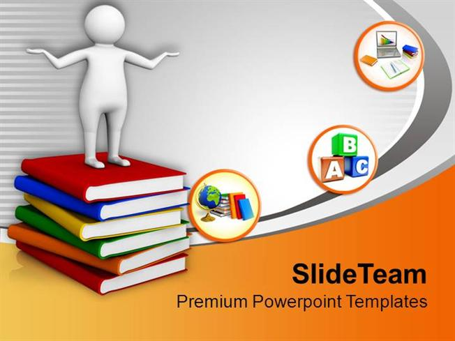Focus On Learning Higher Education Powerpoint Templates Ppt Themes