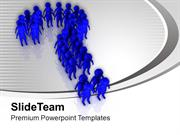 Follow The Team Business Concept PowerPoint Templates PPT Themes And G
