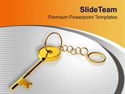 Find The Key Of Success PowerPoint Templates PPT Themes And Graphics 0