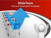Jump The Hurdle For Success PowerPoint Templates PPT Themes And Graphi
