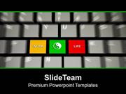 Make Balance Between Work And Life PowerPoint Templates PPT Themes And