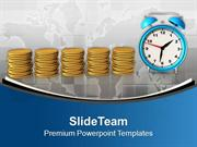 Money Depends On Time In Business PowerPoint Templates PPT Themes And