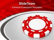 Play The Poker Casino Theme PowerPoint Templates PPT Themes And Graphi