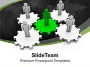 Teamwork Gives Excellent Results PowerPoint Templates PPT Themes And G