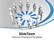 Teamwork Is A Good Concept For Business PowerPoint Templates PPT Theme