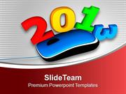 Upgrade With Technology This Year 2013 PowerPoint Templates PPT Themes
