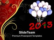 Celebrate New Year 2013 PowerPoint Templates PPT Themes And Graphics 0